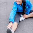 Fit womstretching — Stock Photo #31332419