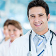 Stock Photo: Male doctor