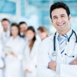 Doctor with medical staff — Stock Photo #31579535