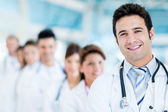Male doctor at the hospital — Stock Photo