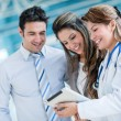 Family doctor — Stock Photo #31587005