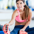 Fit womat gym — Stock Photo #31630545