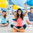 People at gym — Stock Photo #31630677