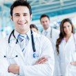 Group of doctors — Foto Stock #31631161
