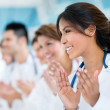 Successful group of doctors — Stock Photo #31632553