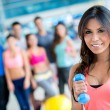 Woman at the gym — Stock Photo #31633157