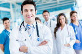 Doktor grup — Stok fotoğraf