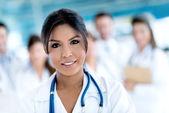 Médico no hospital — Fotografia Stock
