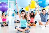 People in a Pilates class — Stock Photo