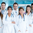 Stok fotoğraf: Group of medical staff