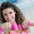 Woman at the gym — Stock Photo #31844083