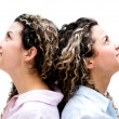 Twins portrait — Stockfoto #31844287