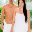 Couple at the spa — Stock Photo #31845839