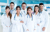 Group of medical staff — Stock Photo