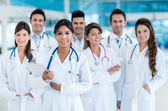 Team of doctors at the hospital — Stock Photo
