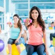 Group of people at the gym — Stock Photo