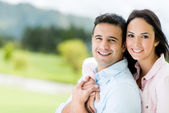 Happy loving couple — Stock Photo