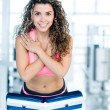 Stock Photo: Fit woman at the gym