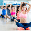 Group of people at gym — Stock Photo #32068957