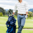 Male golfer at the course — Stock Photo #32127085