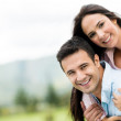 Beautiful couple smiling — Stock Photo #32194203