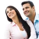 Portrait of a happy couple — Stock Photo #32195017