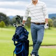 Male golf player — Stock Photo #32195065