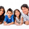 Happy Latinamerican family — Stock Photo #32476511
