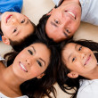 Beautiful hispanic family — Stock Photo #32476701