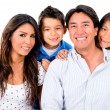 Stock Photo: Happy Latin family