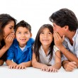 Stock Photo: Family secret
