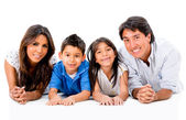 Happy Latinamerican family — Stock Photo
