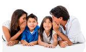 Family secret — Stock Photo