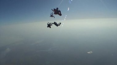 Skydiving video. — Stock Video