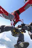 Прыжки с парашютом — Стоковое фото