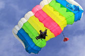 Paracaidismo — Foto de Stock