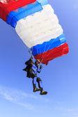 Parachutespringen — Stockfoto