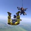Skydiving photo. Tandem. — Stock Photo #18609099
