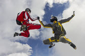 Skydiving photo. — Stock Photo