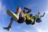 Skydiving photo — Stock Photo
