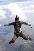 Skydiving photo. — Stock Photo