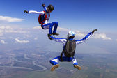Skydiving photo. — 图库照片