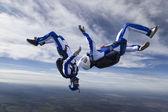 跳伞照片 — 图库照片