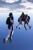 Sports parachutist. — Stock Photo