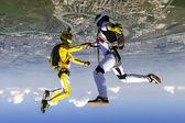 Free fall — Zdjęcie stockowe
