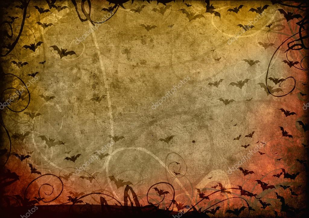 Grunge halloween background card — Stockfoto #12850372