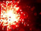 Weihnachten rot abstrakt — Stockfoto