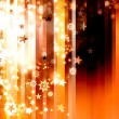 Abstract xmas golden brown background — Stock Photo
