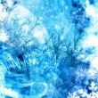 Stock Photo: Cold xmas winter texture background