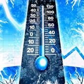Cold winter illustration — Stock Photo